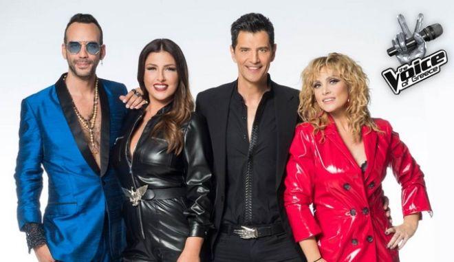 """Οι 4 κριτές του """"The Voice of Greece"""""""