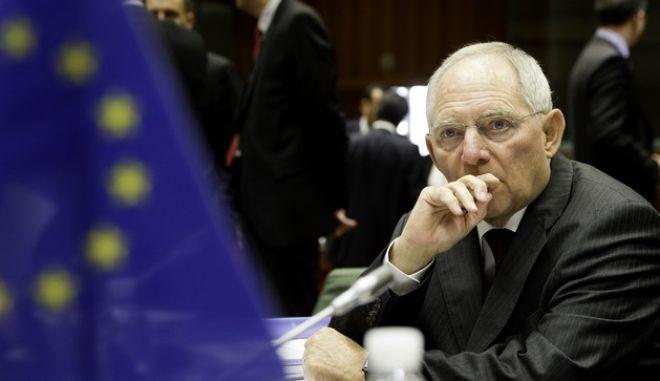 Σόιμπλε για ελληνική προεδρία της Ε.Ε.: Δεν θα σας απογοητεύσουμε