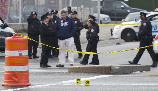 Αστυνομικοί στις ΗΠΑ σε περιστατικό με πυροβολισμούς