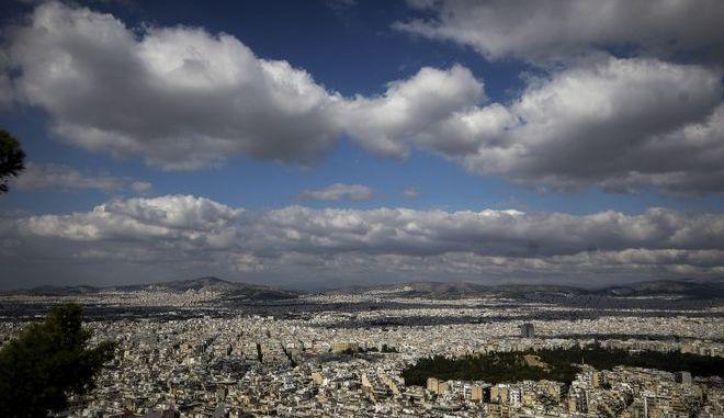 Η Αθήνα όπως φαίνεται από τον Λυκαβηττό
