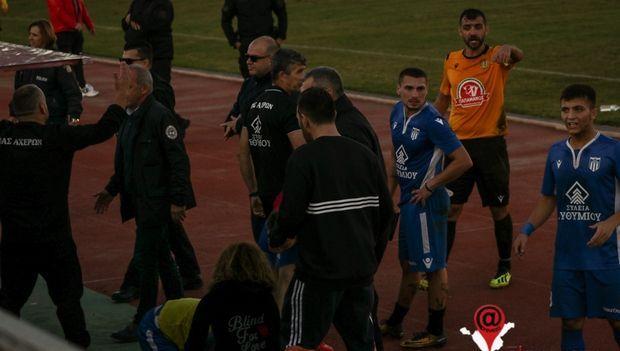 Εικόνες ντροπής σε γήπεδα της Γ' Εθνικής: Επεισόδια, κροτίδες, άγριο ξύλο και τραυματίες