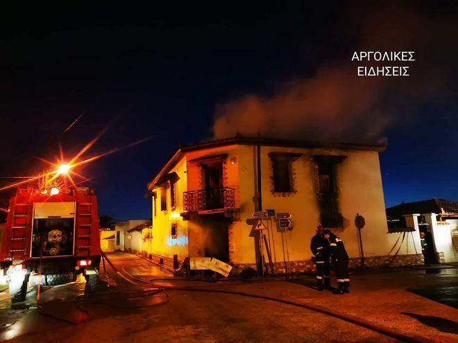 Τραγωδία στην Αργολίδα: Δύο αδέρφια νεκρά μέσα στο σπίτι τους - Καταπλακώθηκαν από τη στέγη μετά από φωτιά