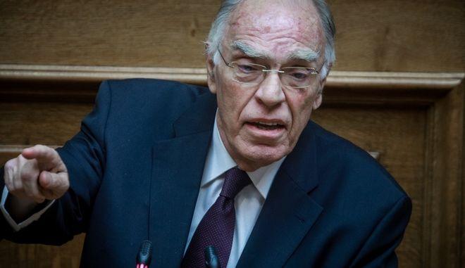 Ο Πρόεδρος της Ένωσης Κεντρώων, Βασίλης Λεβέντης