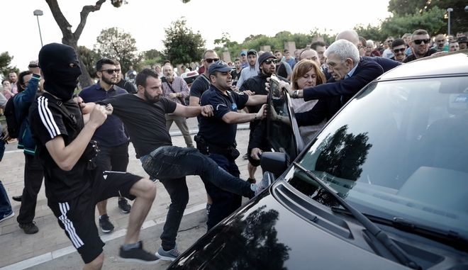 Επίθεση στον δήμαρχο Θεσσαλονίκης