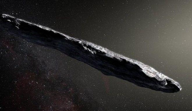 Αστεροειδής που θύμιζε... μεγάλο διαστημόπλοιο πέρασε από το ηλιακό μας σύστημα