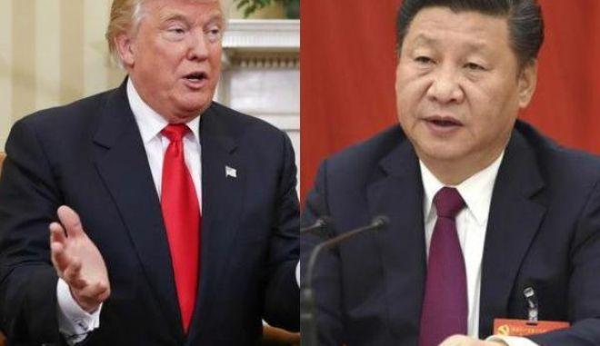 Τηλεφωνική επικοινωνία Τραμπ με τον Κινέζο πρόεδρο
