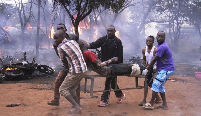 Τανζανία, Έκρηξη βυτιοφόρου