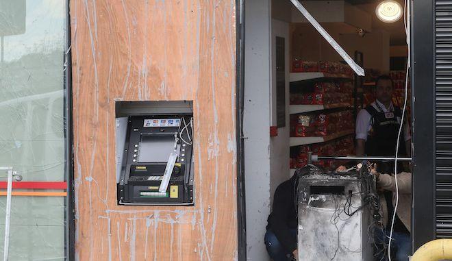 Έκρηξη σε ΑΤΜ σε σούπερ μάρκετ (φωτογραφία αρχείου)