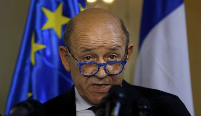 O Jean-Yves Le Drian.