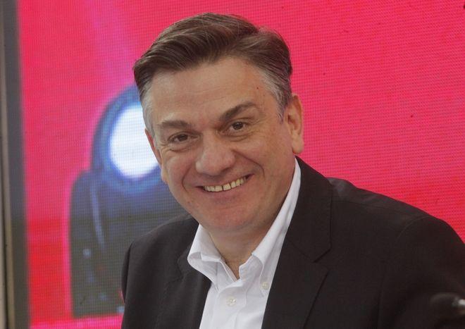 Ο υφυπουργός Υποδομών και Μεταφορών Θάνος Μωραΐτης