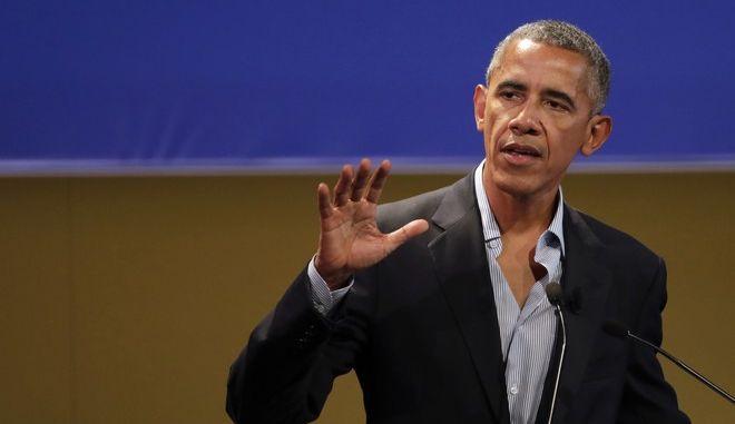 Ο τέως πρόεδρος των ΗΠΑ, Μπαράκ Ομπάμα