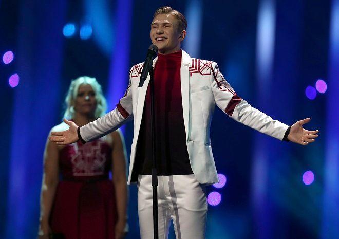 O Άρι Όλαφσον από την Ισλανδία θα τραγουδήσει στον διαγωνισμό Eurovision 2018 το