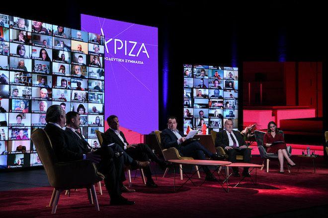 Παρουσίαση του οικονομικού προγράμματος του ΣΥΡΙΖΑ από τον Αλέξη Τσίπρα, 13 Απριλίου 2021