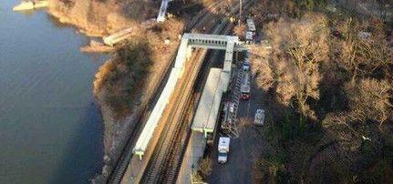 Εκτροχιασμός τρένου στη Νέα Υόρκη