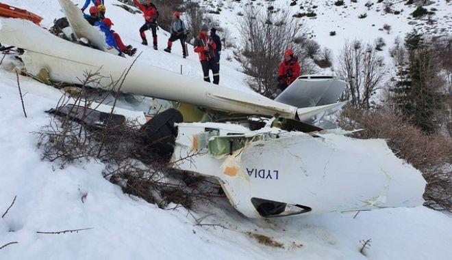Πτώση εκπαιδευτικού αεροσκάφους: Εντοπίστηκε η σορός του πιλότου