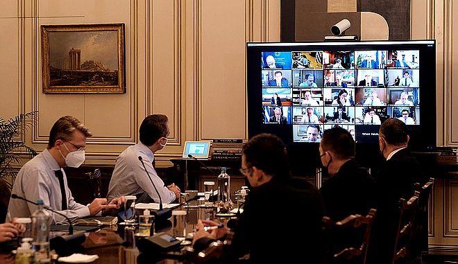 Ο Πρωθυπουργός στο Υπουργικό Συμβούλιο