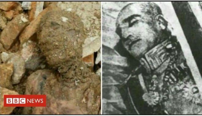 Είναι αυτή η χαμένη σορός του Σάχη της Περσίας;