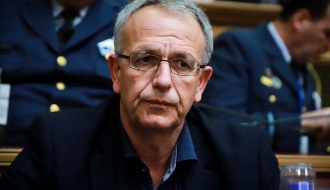Ο αναπληρωτής υπουργός Εθνικής Άμυνας Παναγιώτης Ρήγας