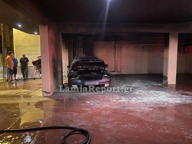 Λαμία: Εμπρηστική επίθεση στο αυτοκίνητο του πρώην αρχιφύλακα των φυλακών Δομοκού