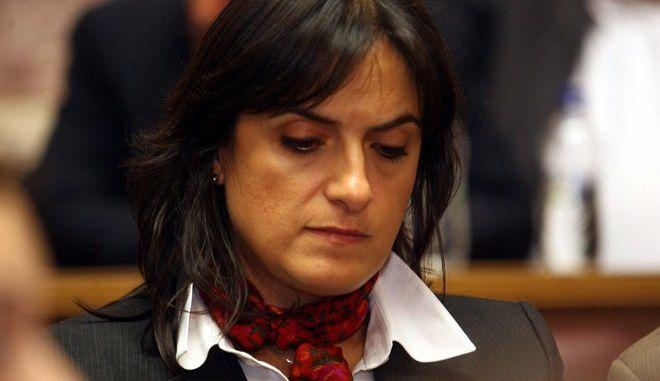 Στιγμιότυπο από την έκτακτη συνεδρίαση της Κοινοβουλευτικής Ομάδας του ΠΑΣΟΚ, Πέμπτη 3 Νοεμβρίου 2011. (EUROKINISSI // ΤΑΤΙΑΝΑ ΜΠΟΛΑΡΗ)