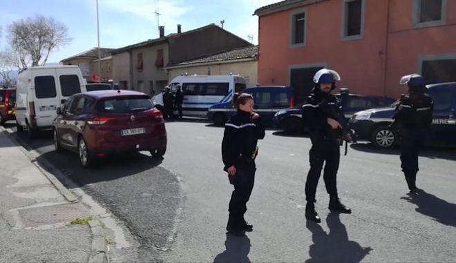 Αστυνομικοί στη Γαλλία