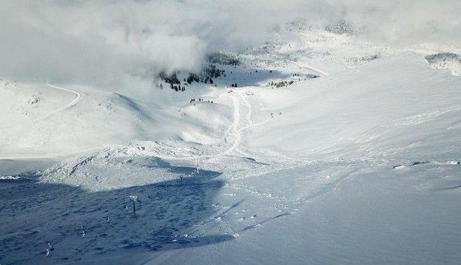 Χιονοστιβάδα 1 εκατ. τόνων