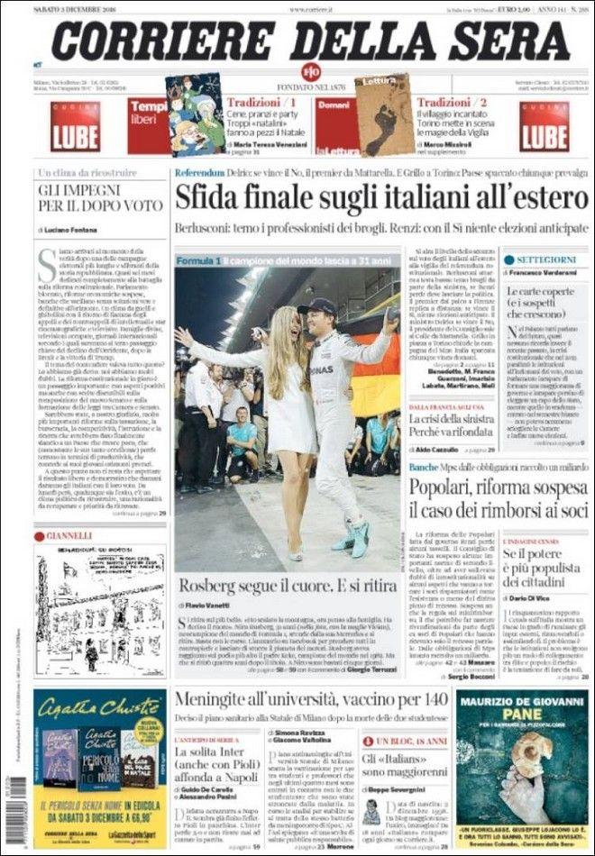 Ο Ιταλικός Τύπος για το αυριανό δημοψήφισμα