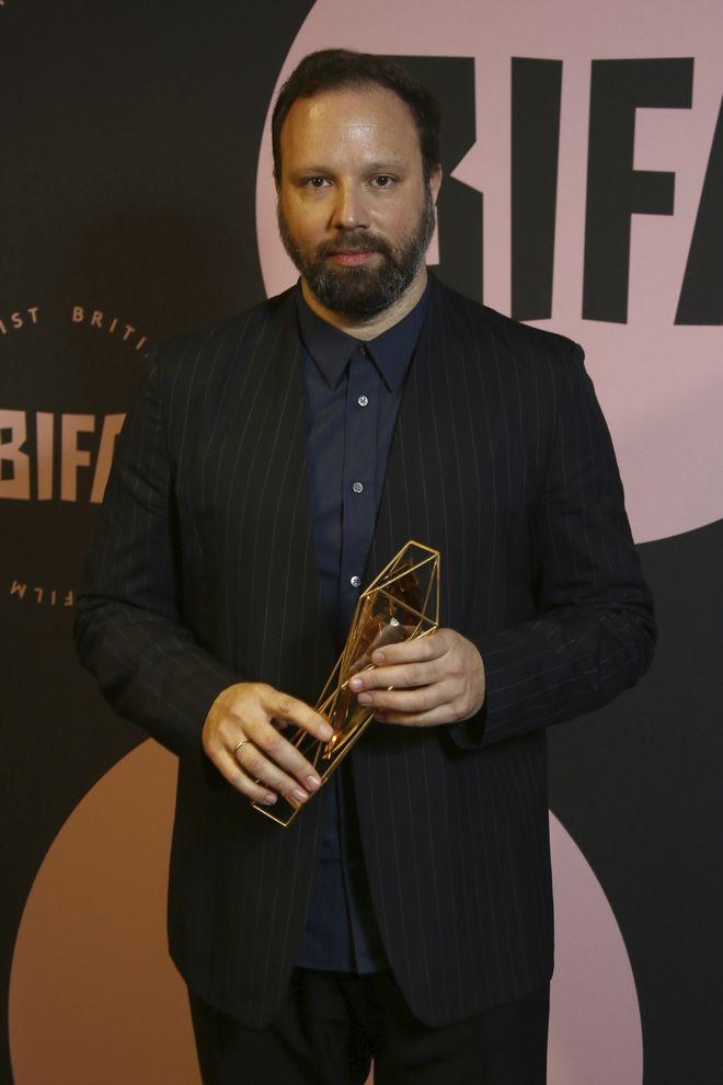 Ο σκηνοθέτης Γιώργος Λάνθιμος στα British Independent Film Awards