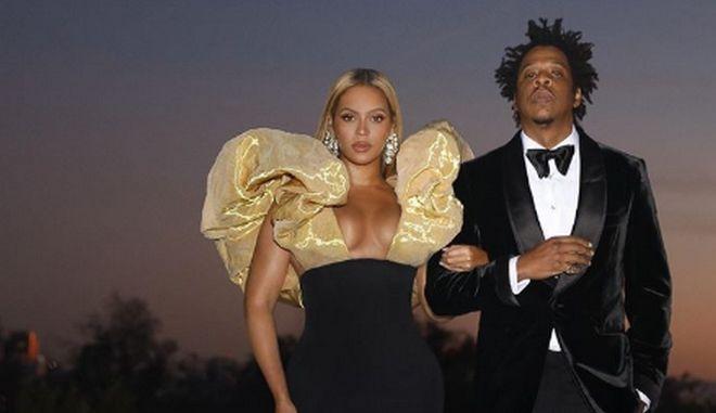Beyonce και Jay-Z έφτασαν με μία ώρα καθυστέρηση στις Χρυσές Σφαίρες