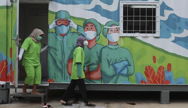 Ιατρικό προσωπικό στην Ινδονησία