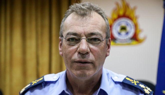 Ο πρώην αρχηγός της Πυροσβεστικής, Βασίλης Ματθαιόπουλος