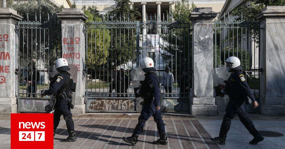 """Πολυτεχνείο: Η κυβέρνηση απειλεί και επιμένει – Η αντιπολίτευση """"την ταράζει στη νομιμότητα"""" – Πολιτική"""