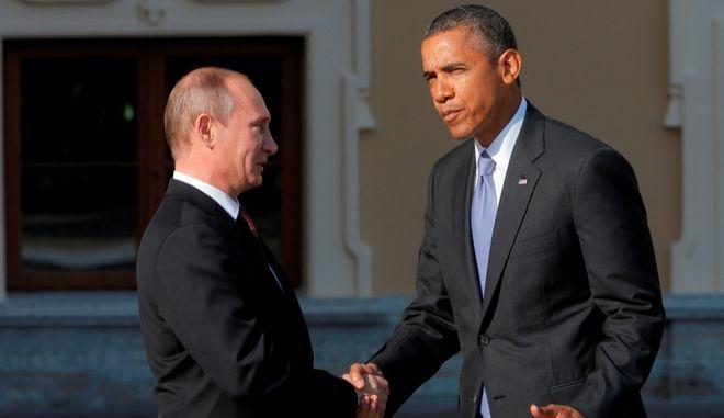 Ομπάμα - Πούτιν συζήτησαν για την ασφάλεια των Αγώνων στο Σότσι