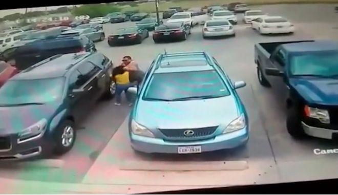 Άγριος ξυλοδαρμός για μια θέση σε πάρκινγκ