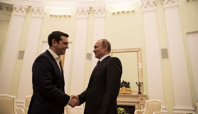 """Ο Τσίπρας θα λάβει μέρος στο Οικονομικό Φόρουμ του Πούτιν, το """"ρωσικό Νταβός"""""""
