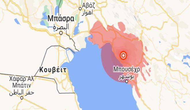 Ιράν: Σεισμός 5,9 Ρίχτερ κοντά σε εργοστάσιο παραγωγής πυρηνικής ενέργειας