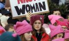 Φεμινιστική διαμαρτυρία στην Ουάσινγκτον