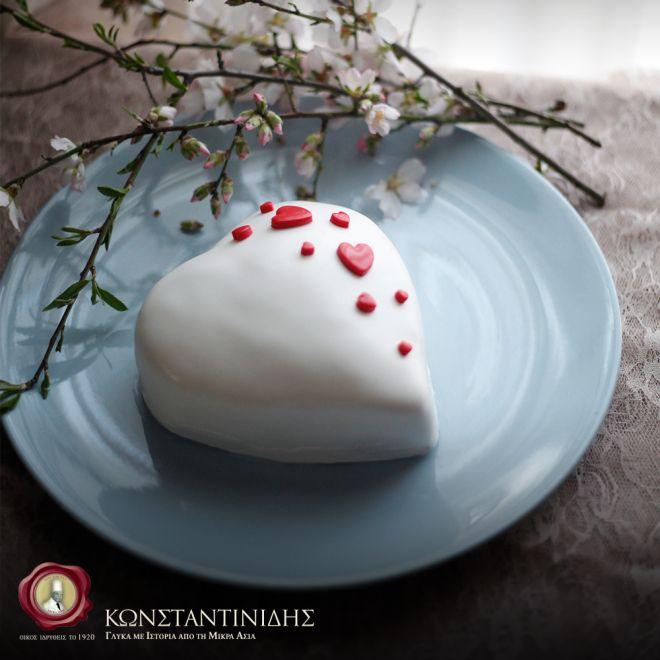 Τα Ζαχαροπλαστεία Κωνσταντινίδης δημιουργούν για την ημέρα του Αγίου Βαλεντίνου τις πιο #glikesistoriesagapis