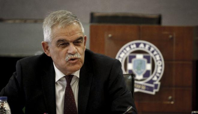 Ο αν. υπουργός Προστασίας του Πολίτη, Νίκος Τόσκας