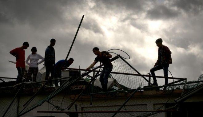 Καταιγίδα στην Κούβα