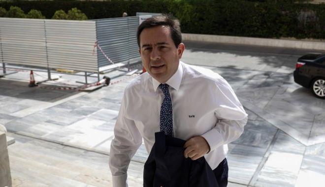 O υφυπουργός Εργασίας Νότης Μηταράκης.