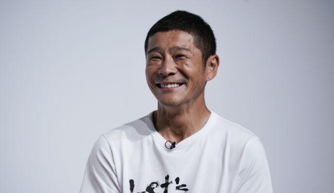 Ο Yusaku Maezawa