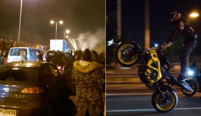 Antreas Rigo: Κοσμοσυρροή με μηχανές στο σημείο που σκοτώθηκε στην κόντρα με τον φίλο του