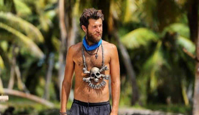 Ο Νίκος Μπάρτζης του Survivor 4