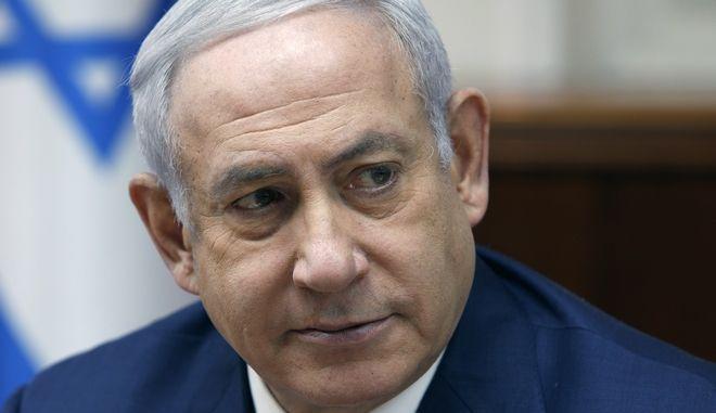 Ο πρωθυπουργός του Ισραήλ, Μπενιαμίν Νετανιάχου