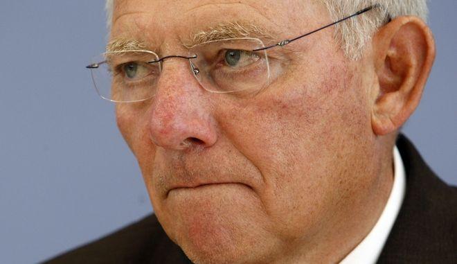 Ο πρώην υπουργός Οικονομικών της Γερμανίας Βόλφγκανγκ Σόιμπλε