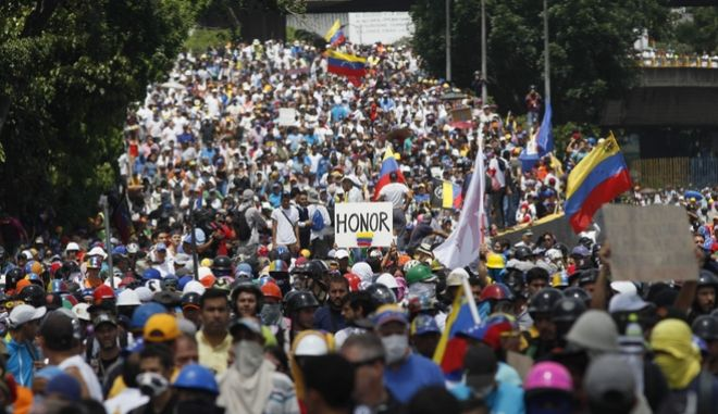 Ο Standard and Poor's προειδοποιεί για άμεσο κίνδυνο χρεοκοπίας στη Βενεζουέλα