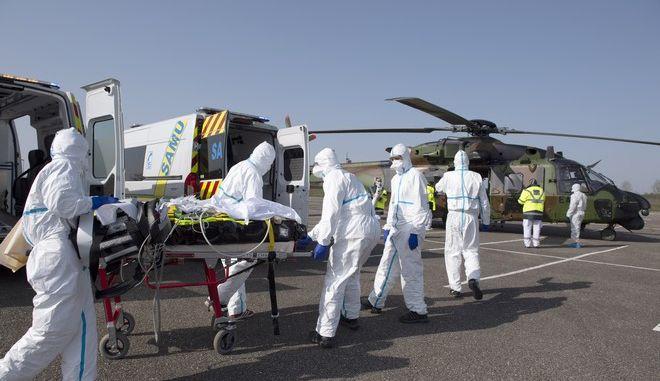 Μεταφορά ασθενή από τη Γαλλία στη Γερμανία