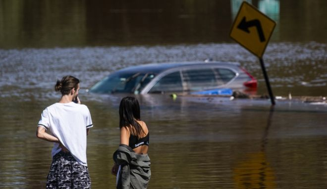 Πλημμύρες στο Νιο Τζέρσει