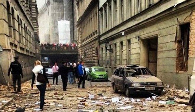 Τσεχία: Ισχυρή έκρηξη στο κέντρο της Πράγας
